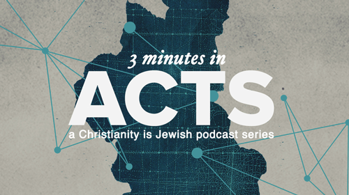 3 Minutes in Acts – Ep 11 – David's Prophecy of Judas